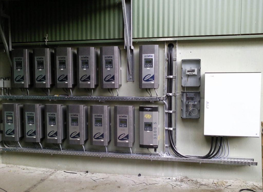 Anschluss einer Photovoltaikanlage